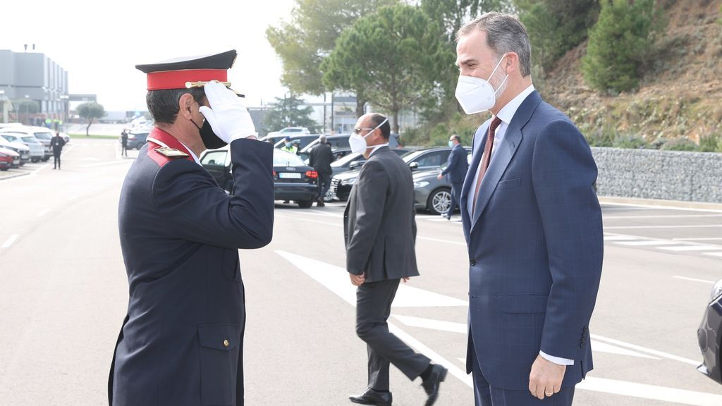 """""""Todas las instituciones vamos a estar ahí"""", el rey Felipe VI compromete su apoyo al sector del automóvil en su visita a SEAT en Barcelona"""