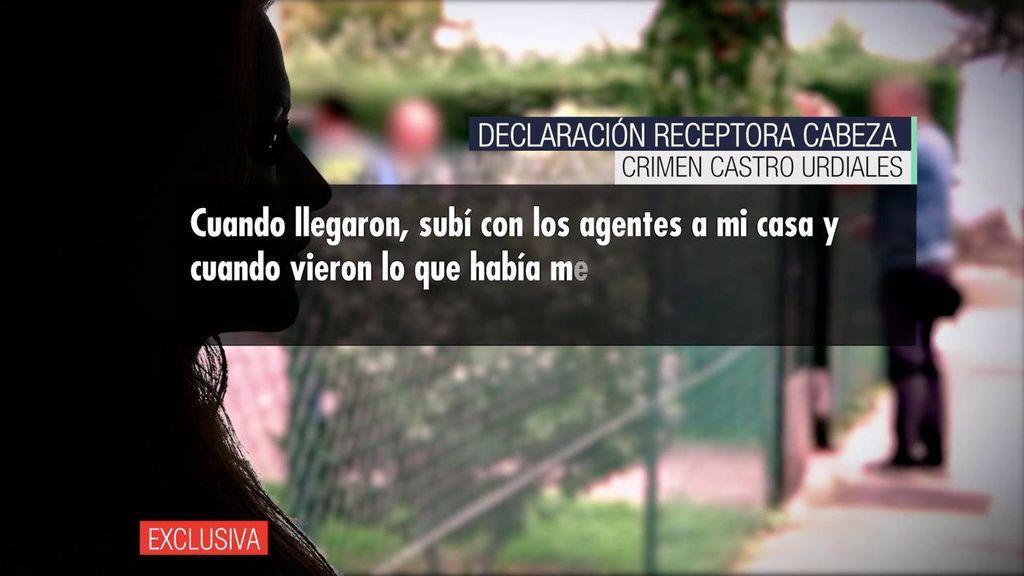 La receptora del cráneo de Castro Urdiales cuenta los detalles del crimen