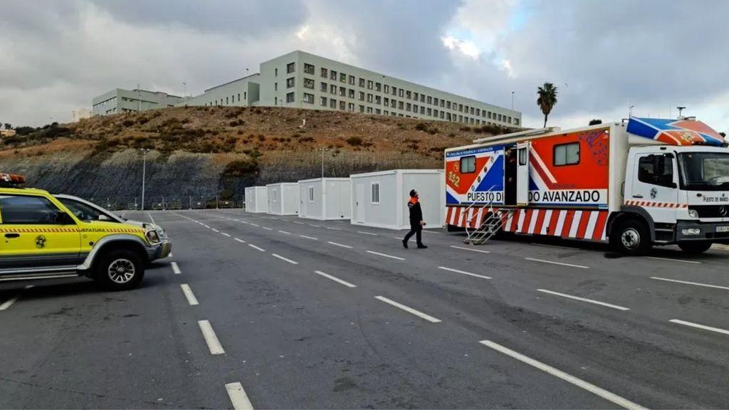 Un test de antígenos en Ceuta