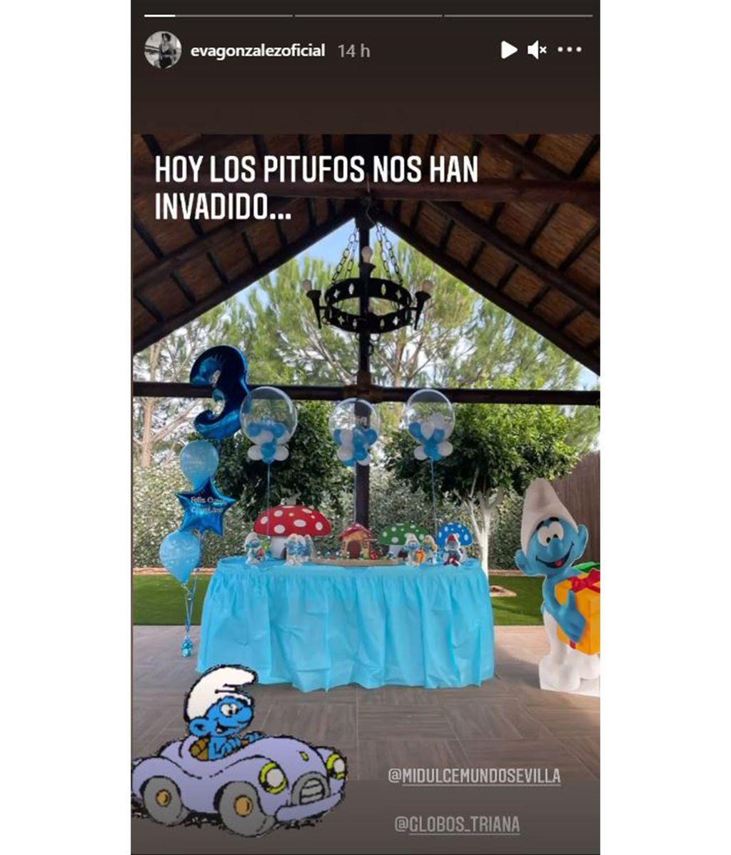 Eva González y Cayetano Rivera celebran el cumpleaños de su hijo