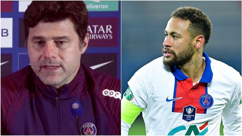 """Pochettino no lo esconde, Neymar apunta al Barça: """"La evolución es buena"""""""