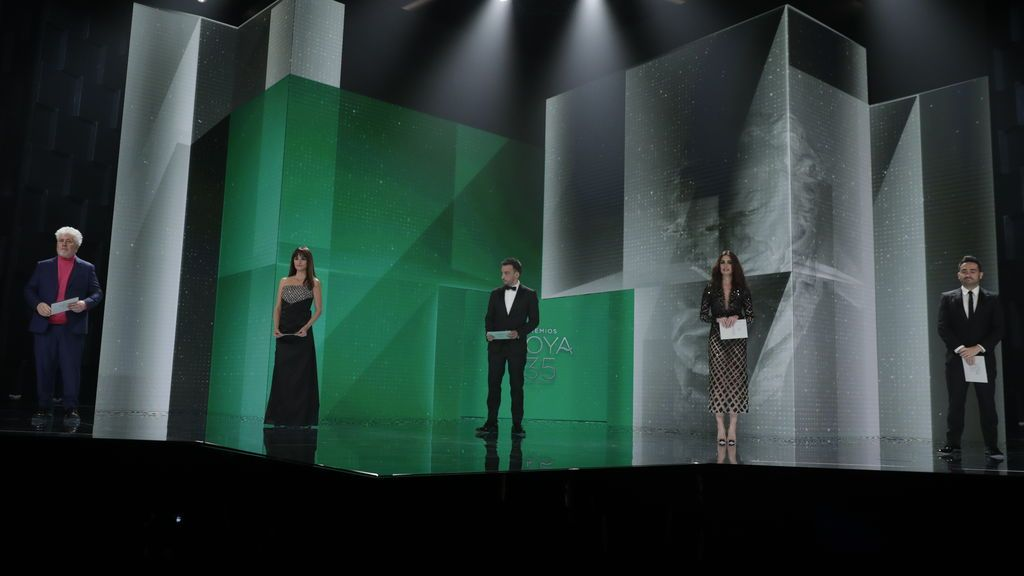 Pedro Almodóvar, Penélope Cruz, Alejandro Amenábar, Paz Vega y Jota Bayona