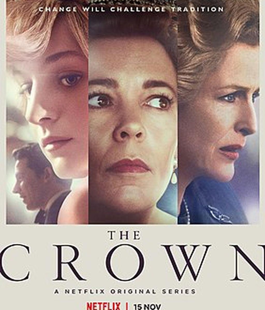 Cartel de la cuarta temporada de 'The Crown'
