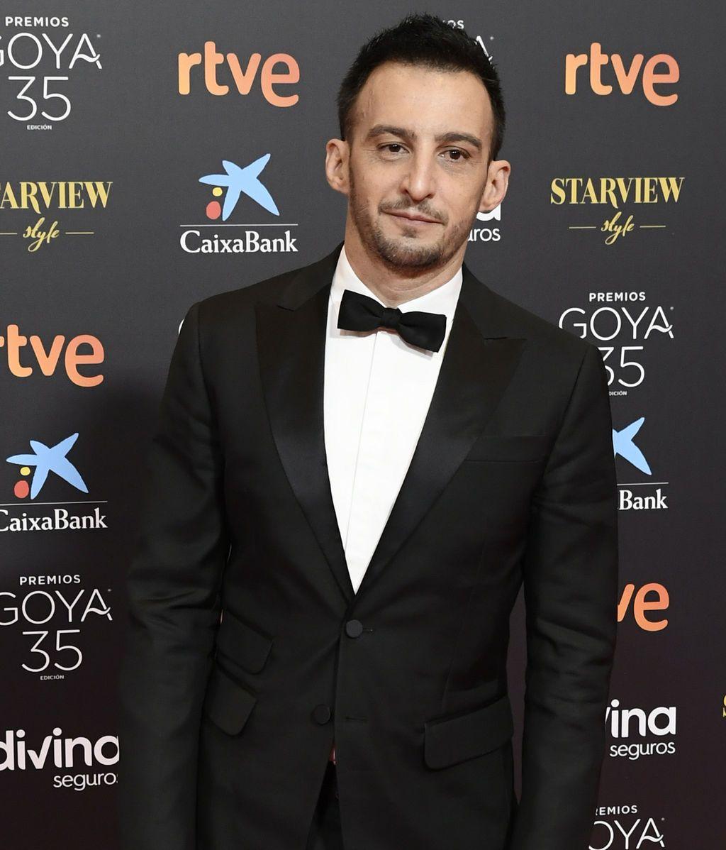 Alejandro Amenábar en la alfombra roja de los Premios Goya 2021