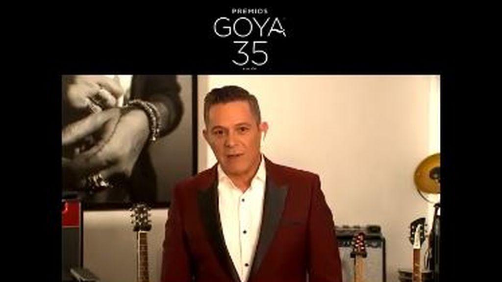 """Alejandro Sanz llega con """"toda la ilusión del mundo"""" a sus primeros Goya: """"Claro que hay nervios"""""""