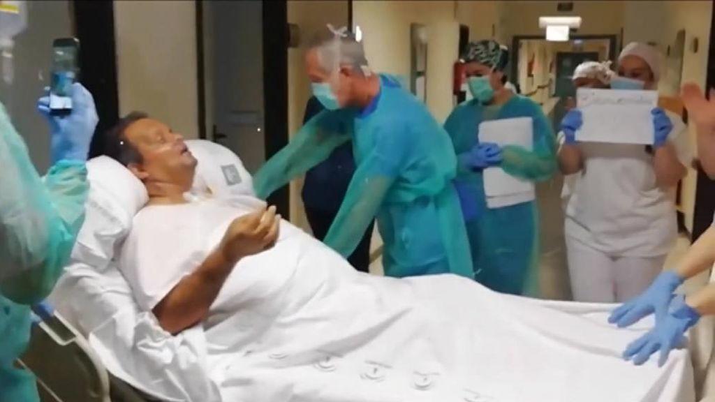 La lenta recuperación de Munir tras 28 días en la UCI