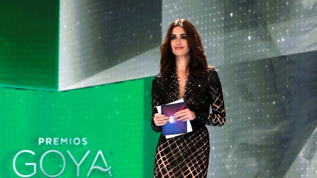 Paz Vega durante la gala de la 35 edición de los Premios Goya
