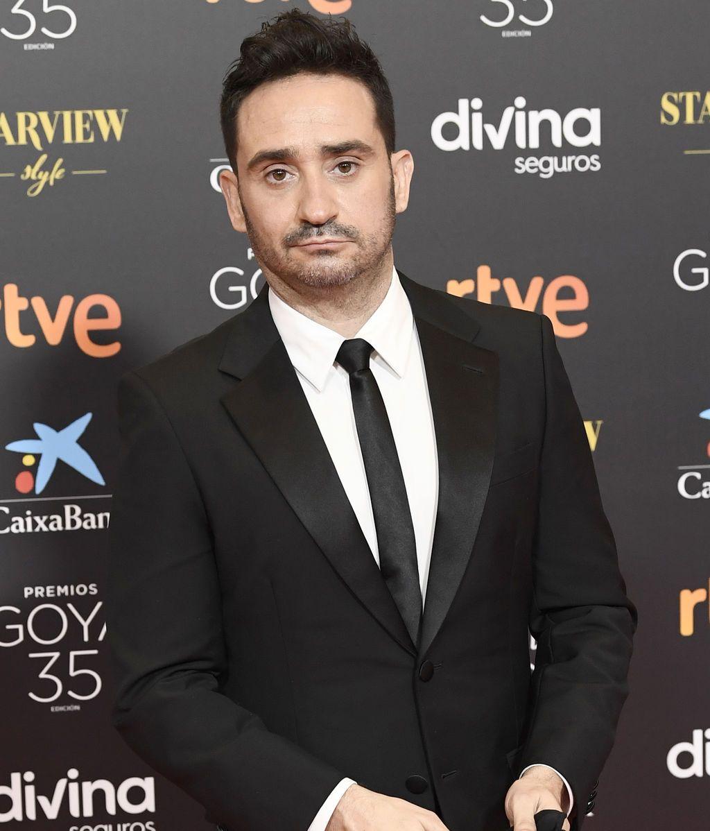 José Antonio Bayona en la alfombra roja de los Premios Goya 2021