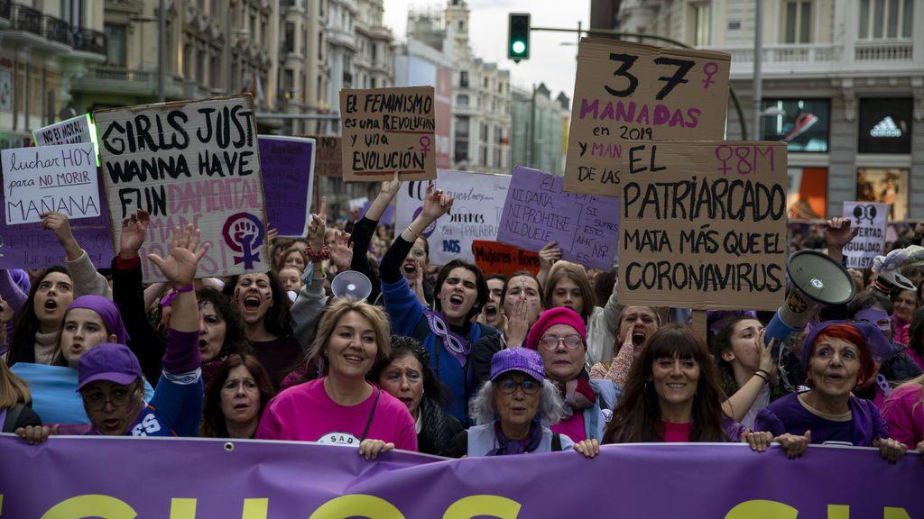 La Fiscalía de Madrid pide que se prohíban las manifestaciones del 8M por riesgos para la salud pública