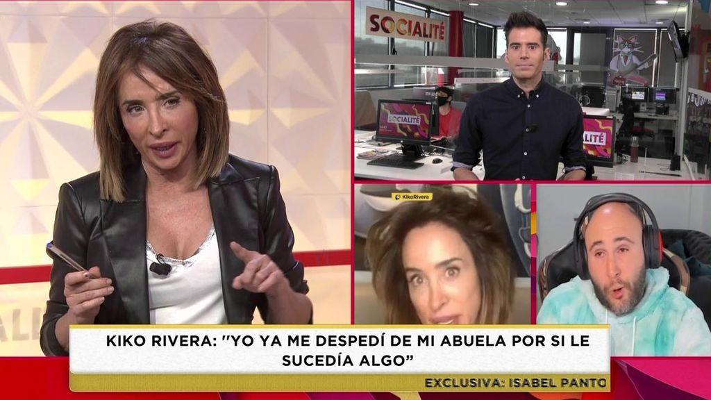 Patiño habla de su entrevista con Kiko Rivera