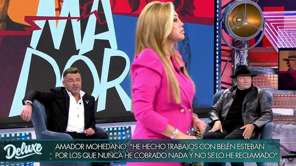 Belén Esteban se enfrenta a Amador Mohedano