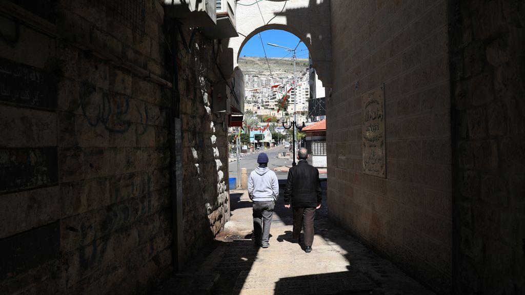 Calle de Cirsjordania