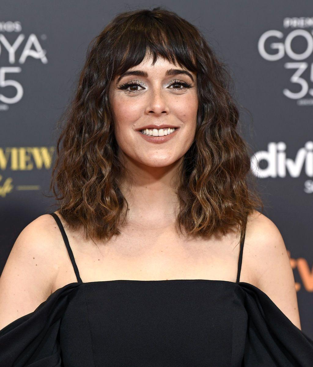 Belén Cuesta en la alfombra roja de los Premios Goya 2021