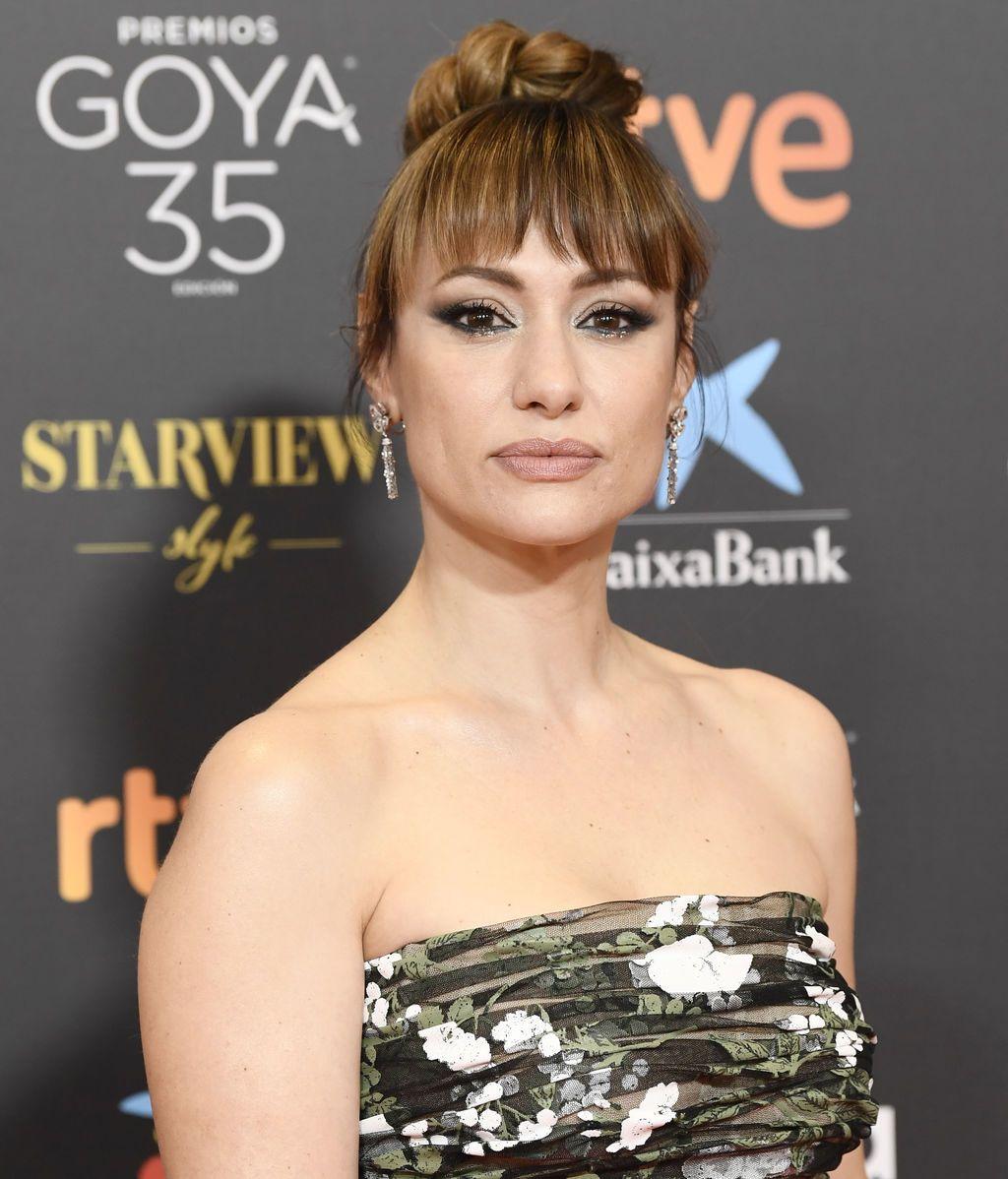 Natalia Verbeke en la alfombra roja de los Premios Goya 2021