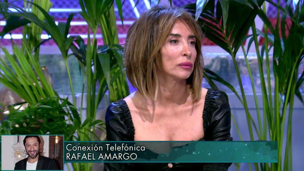 María Patiño abandona el plató por Rafael Amargo