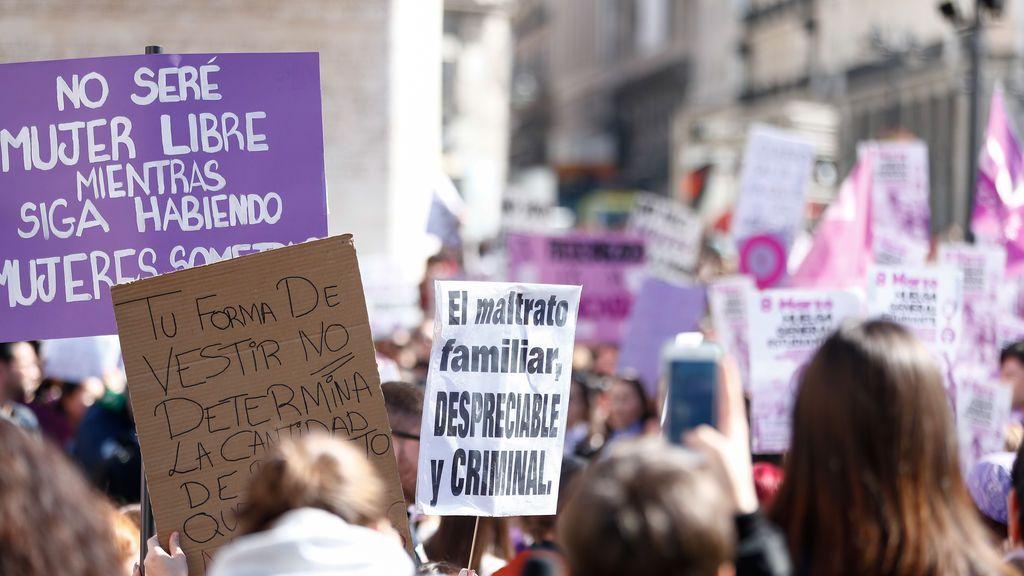 """La Fiscalía avala la prohibición del 8-M en Madrid porque el cordón de seguridad feminista es """"insuficiente"""""""