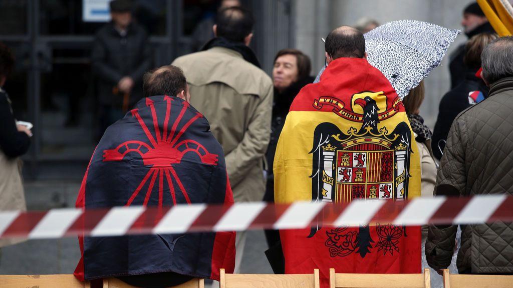 Multan a 35 simpatizantes falangistas que se habían desplazado de Madrid a Valladolid a una manifestación