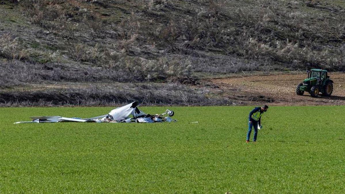 Dos fallecidos al estrellarse una avioneta cerca del aeródromo de La Iglesuela del Tiétar, en Toledo