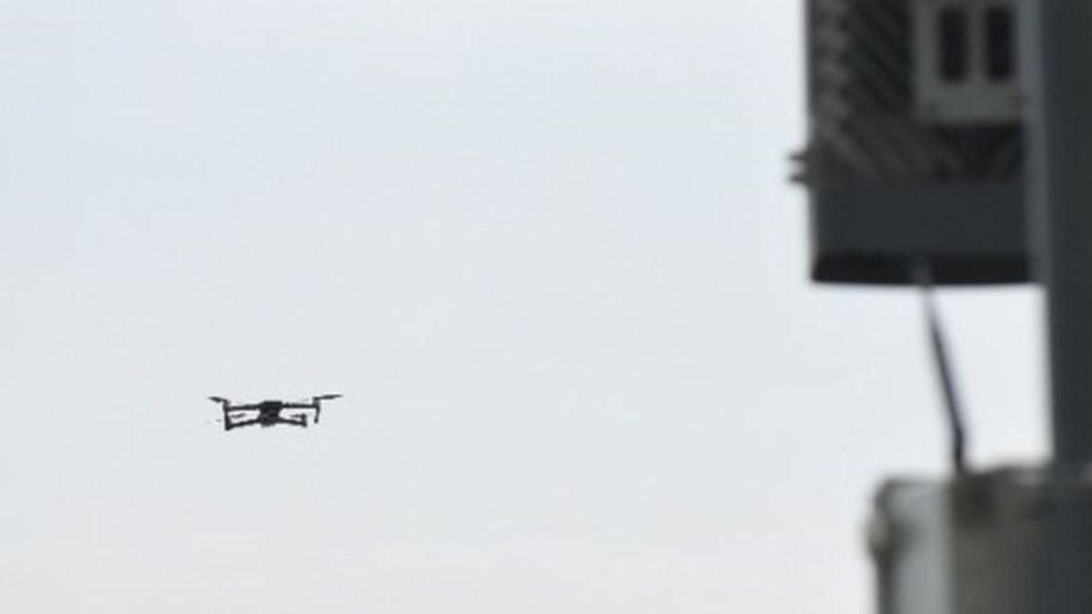 Interceptan un drón sobrevolaba el Congreso y otros edificios estratégicos