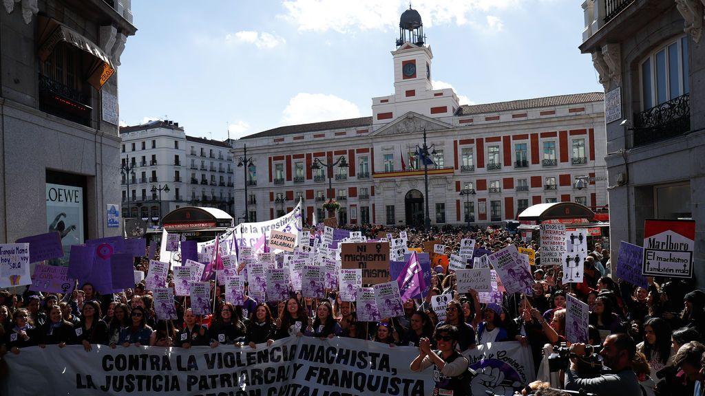 La celebración del Día de la Mujer se queda sin marchas en Madrid por mandato judicial