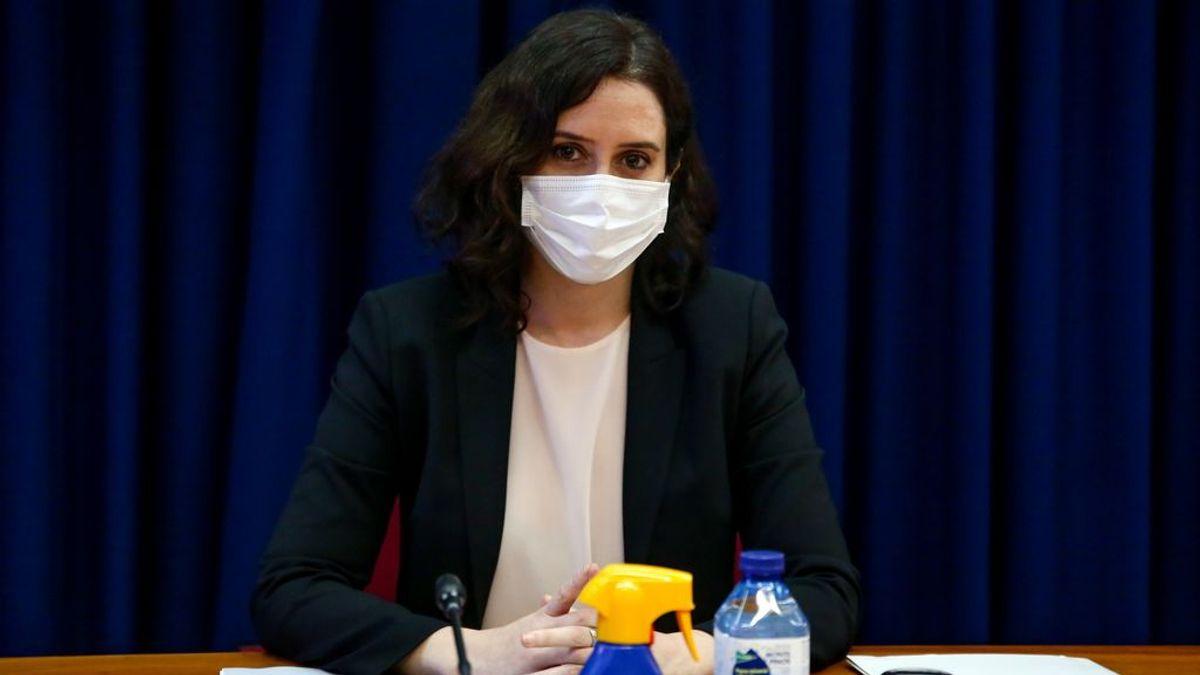 Ayuso apoya la decisión del delegado del Gobierno en Madrid al prohibir las manifestaciones del 8M