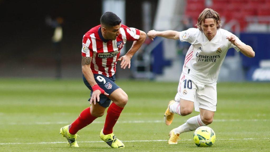 Atlético y Real Madrid firman tablas en un derbi marcado por una mano de Felipe en el área (1-1)