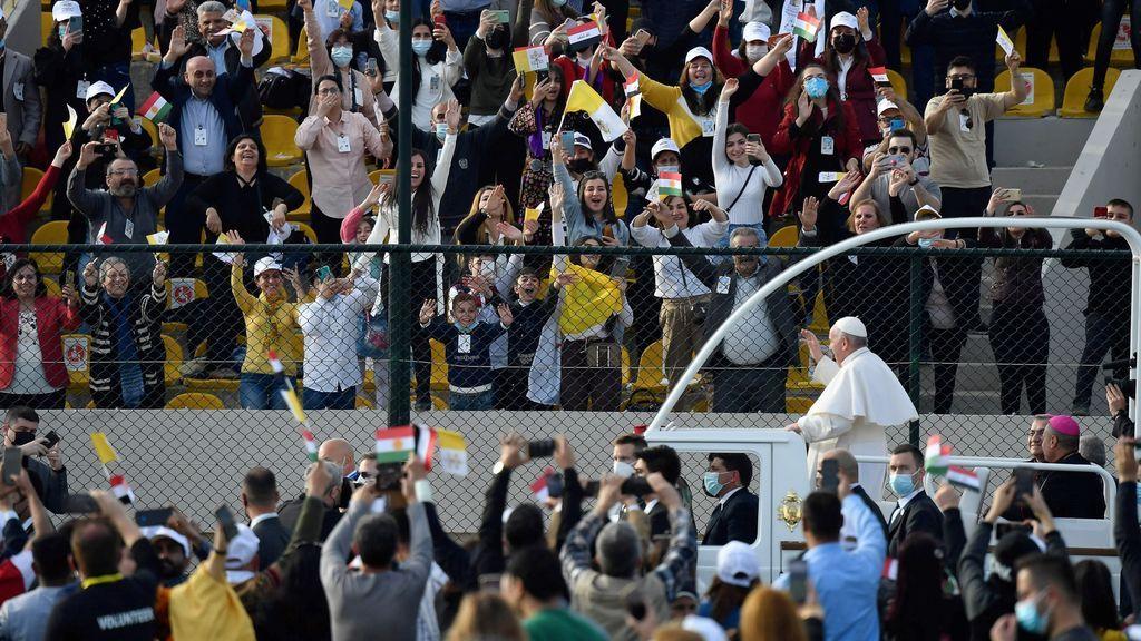 Las mejores imágenes de la visita del papa a Irak
