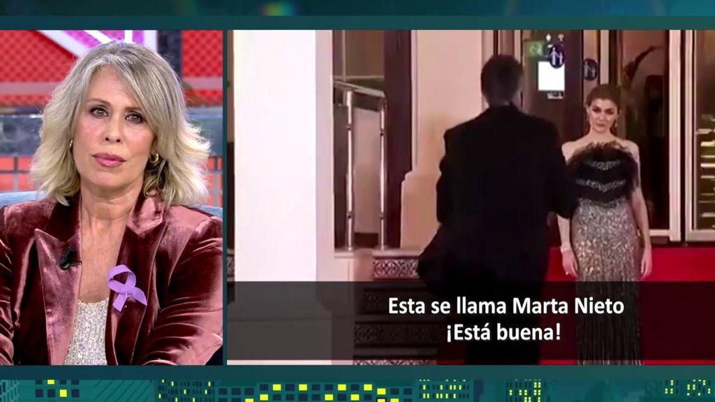 Miriam Díaz-Aroca habla de los comentarios machistas hacia actrices en los Goya 2021
