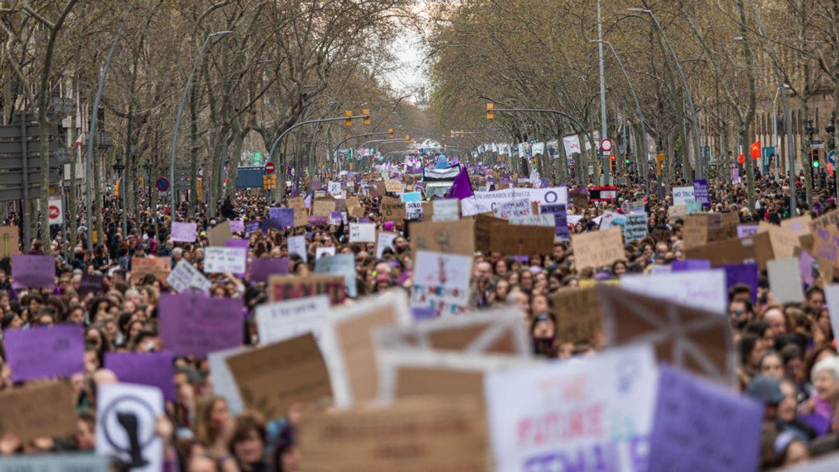 Colectivos feministas convocan unas 60 concentraciones en Cataluña