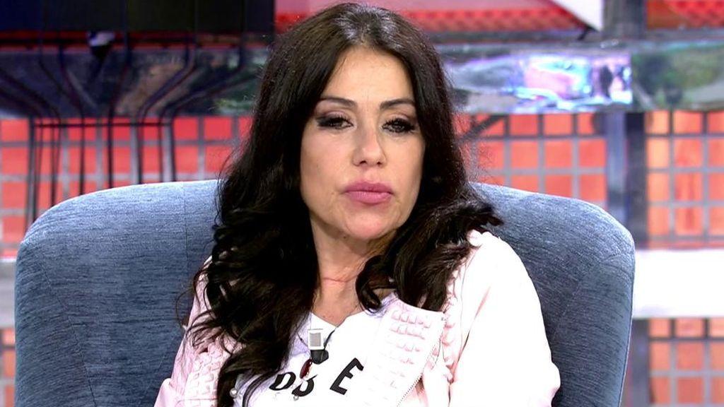 Maite Galdeano acusa a su hijo de haberle robado