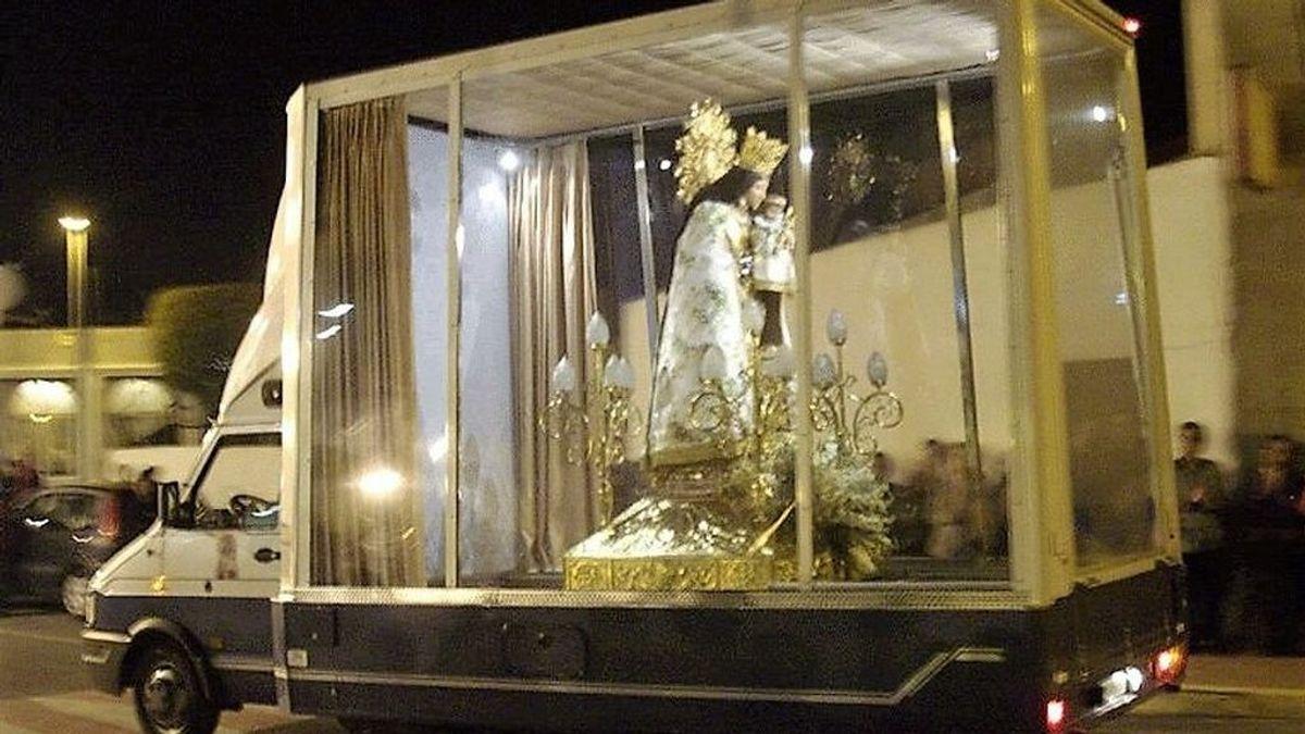 La Virgen de los Desamparados recorrerá en el 'maremóvil' las calles de Valencia tras cancelarse los actos falleros