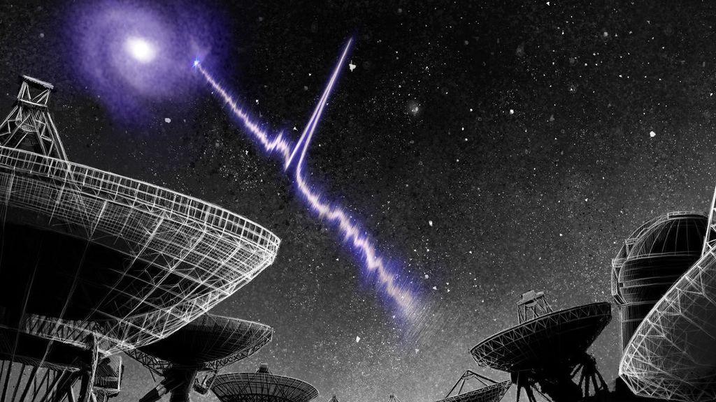 Un telescopio gigante chino detecta tres señales de radio del universo más distante