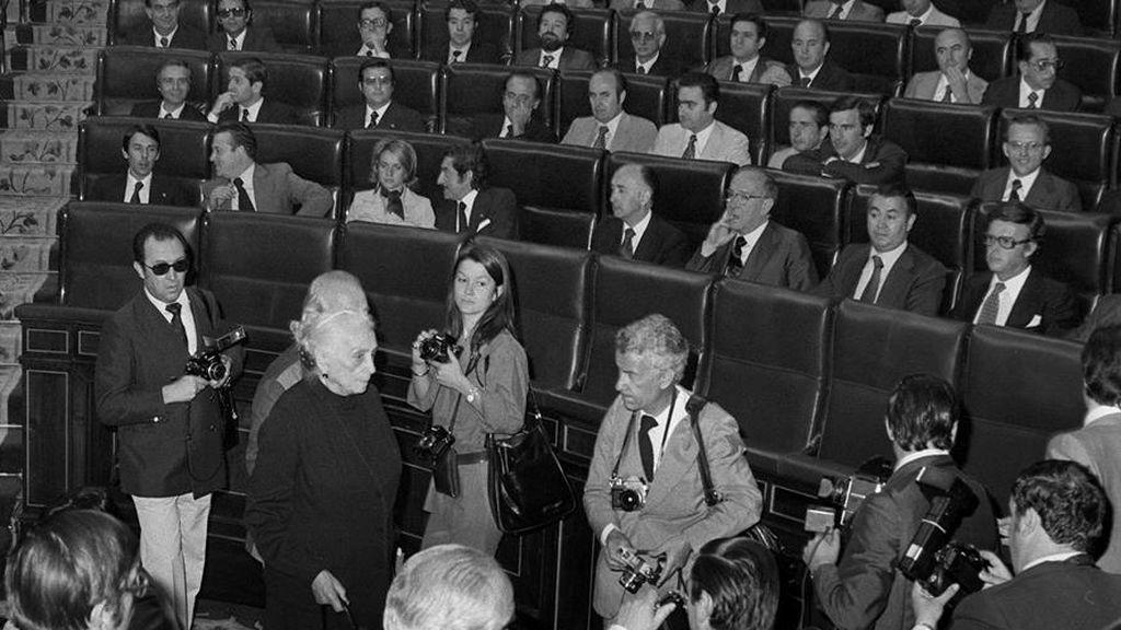 El Congreso rinde homenaje a las 21 diputadas de la Legislatura Constituyente de 1977