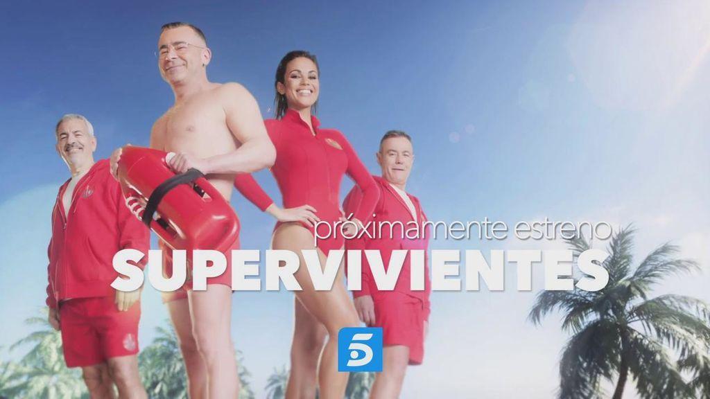 ¡Vuelve 'Supervivientes'! Jorge Javier Vázquez, Lara Álvarez, Carlos Sobera y Jordi González están preparados para el próximo gran estreno en Telecinco