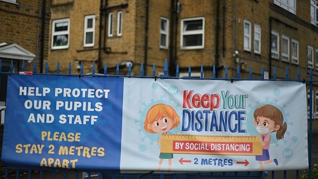 Este lunes reabren los colegios de primaria en el Reino Unido