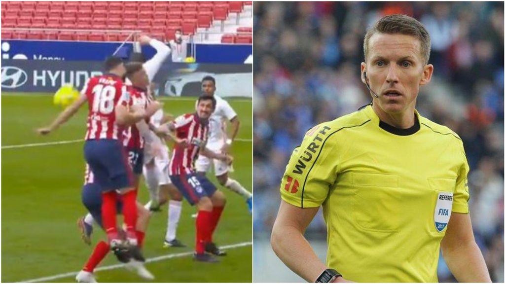 """El Atleti estalla ante las quejas del arbitraje del Real Madrid: """"Algunos están acostumbrados a tener siempre el viento a favor"""""""