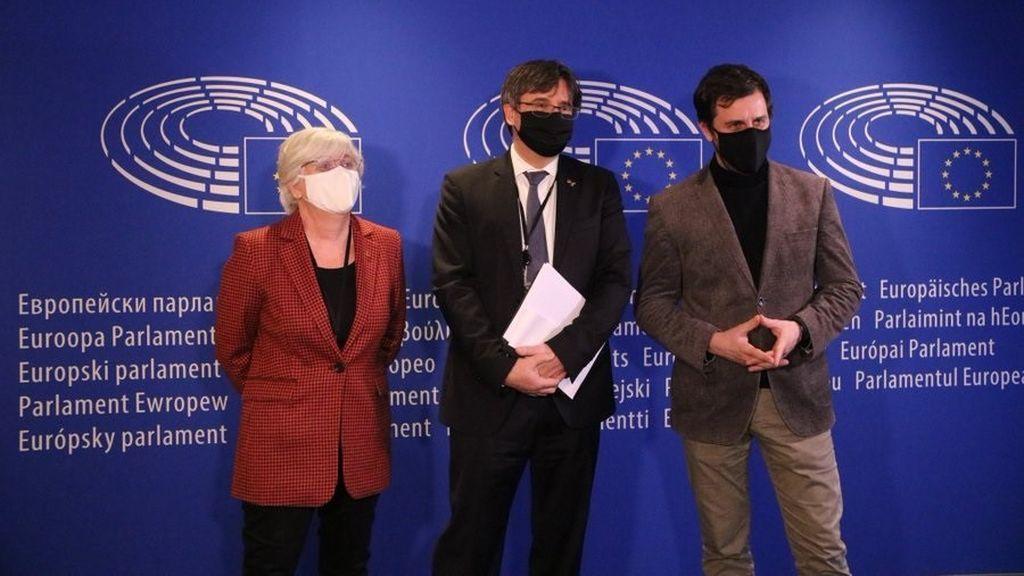 El Parlamento Europeo decide si retira la inmunidad a Puigdemont, Comín y Ponsatí