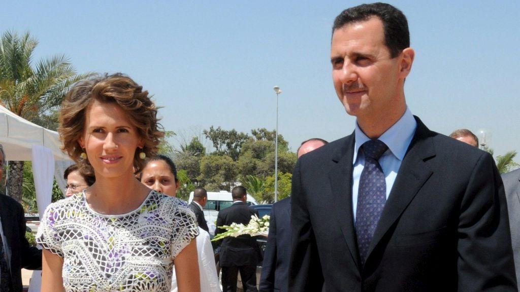 El presidente de Siria, Bashar al Asad, y su mujer dan positivo por coronavirus