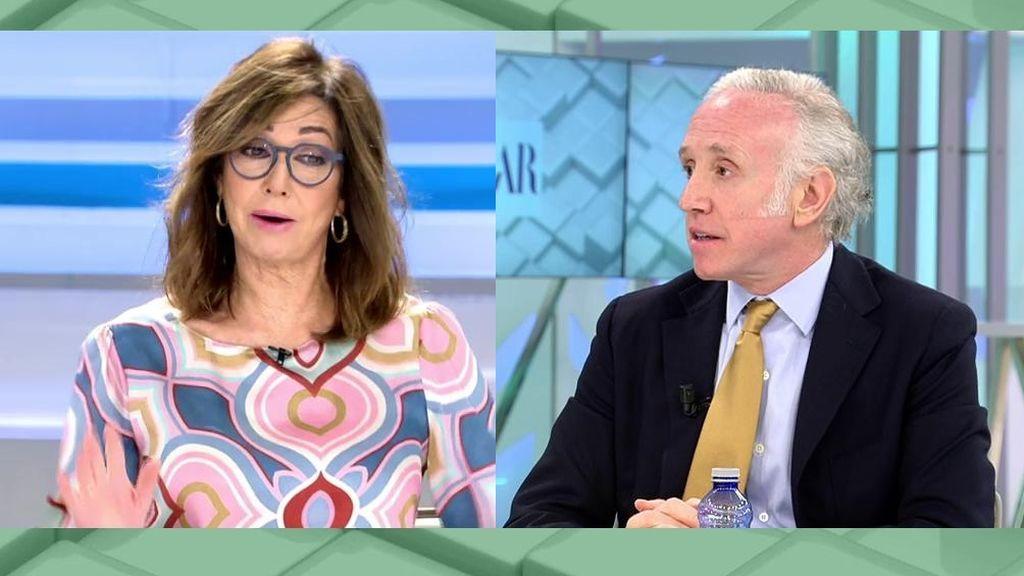 Ana Rosa y Eduardo Inda se 'pican' por el derbi madrileño