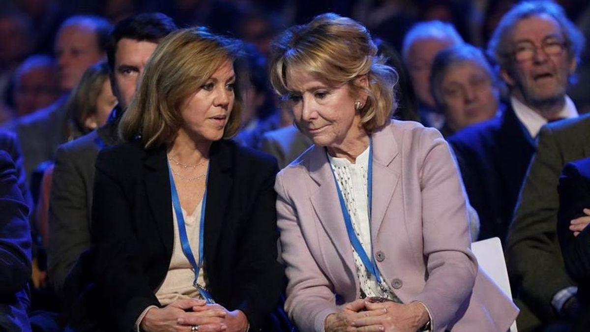 Los 'olvidos' en el vídeo de reivindicación de las mujeres pioneras del PP en el 8M: De Aguirre a Cospedal