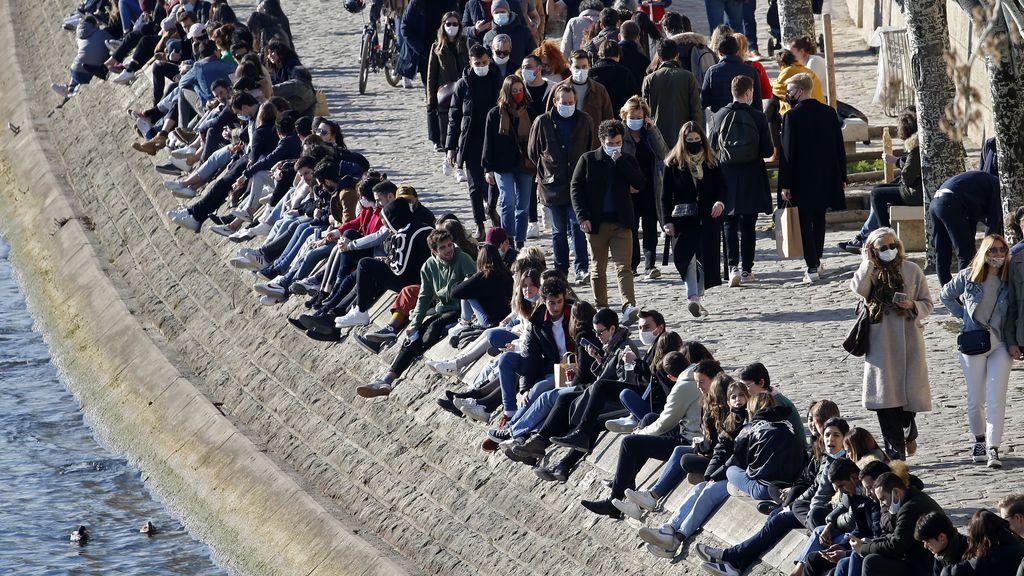 Repunte de la pandemia en Europa: Francia e Italia ya tienen peores cifras que España