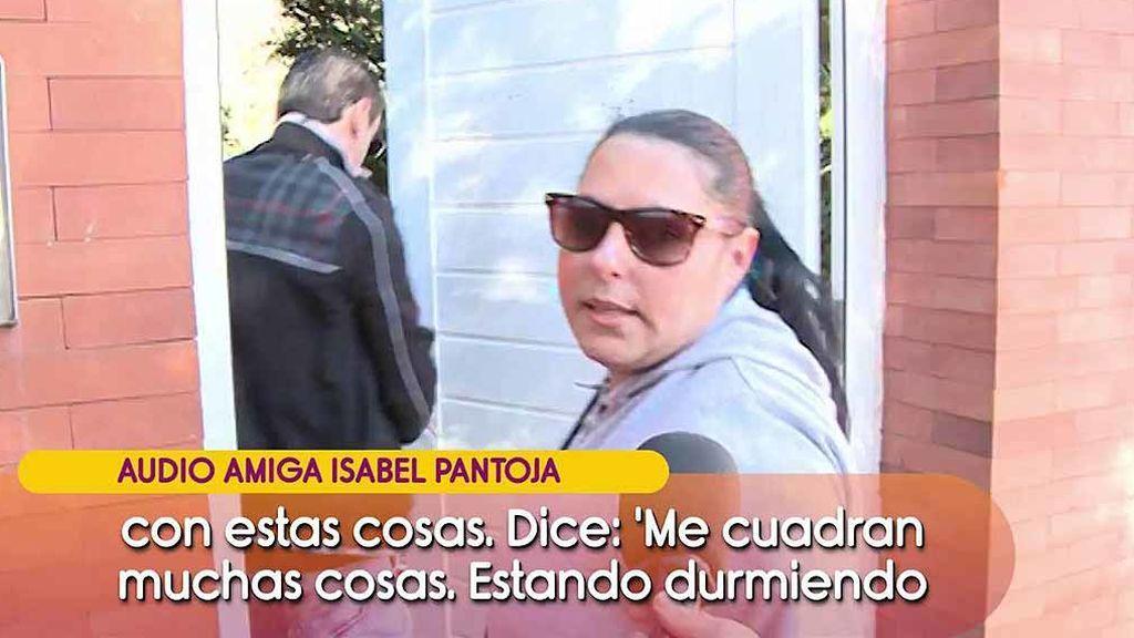 """Una amiga de Isabel Pantoja asegura que Celeste y Agustín están """"compinchados"""": """"Ella le dio un sobre con dinero"""""""