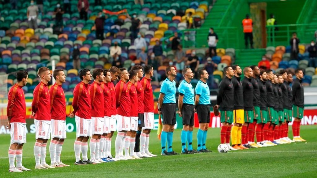 España jugará contra Portugal un amistoso antes de que comience la Eurocopa