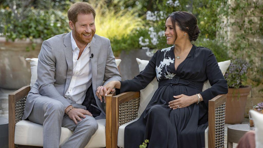Oprah Winfrey aclara que Isabel II no hizo el comentario racista sobre el hijo de Harry y Meghan