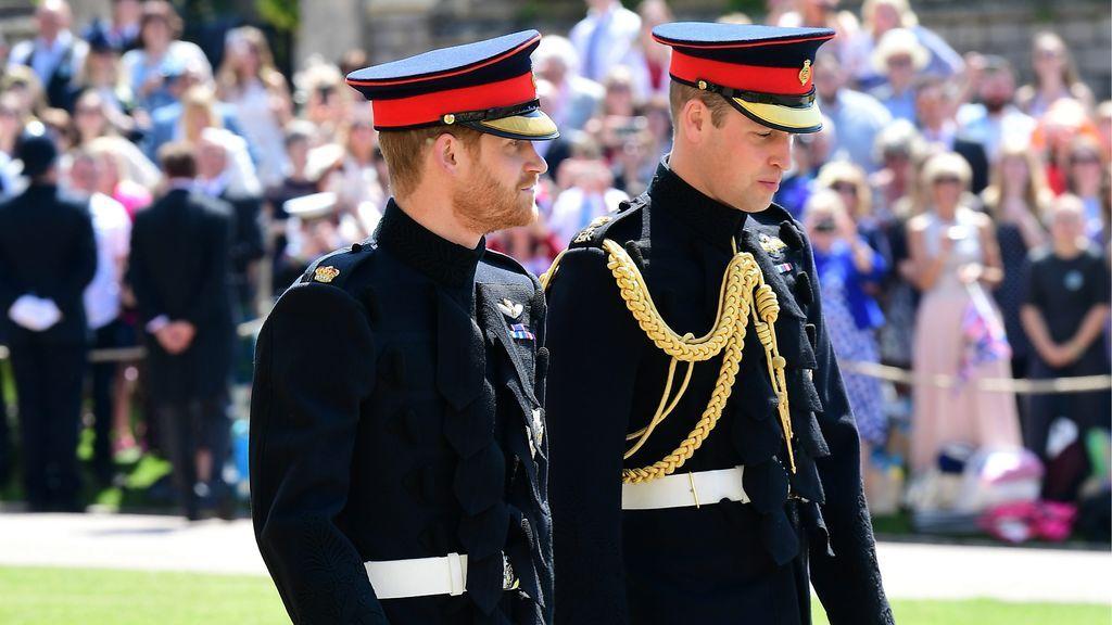 El príncipe Harry y su hermano Guillermo