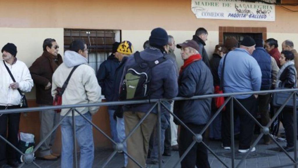 El 96,4% de las familias atendidas por Cáritas no ha recibido el ingreso mínimo vital (IMV)