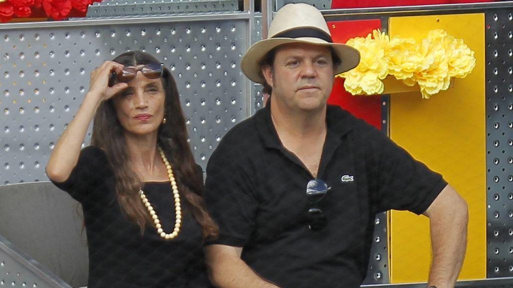 Ángela Molina y su marido, Leo Blackstad (2012)