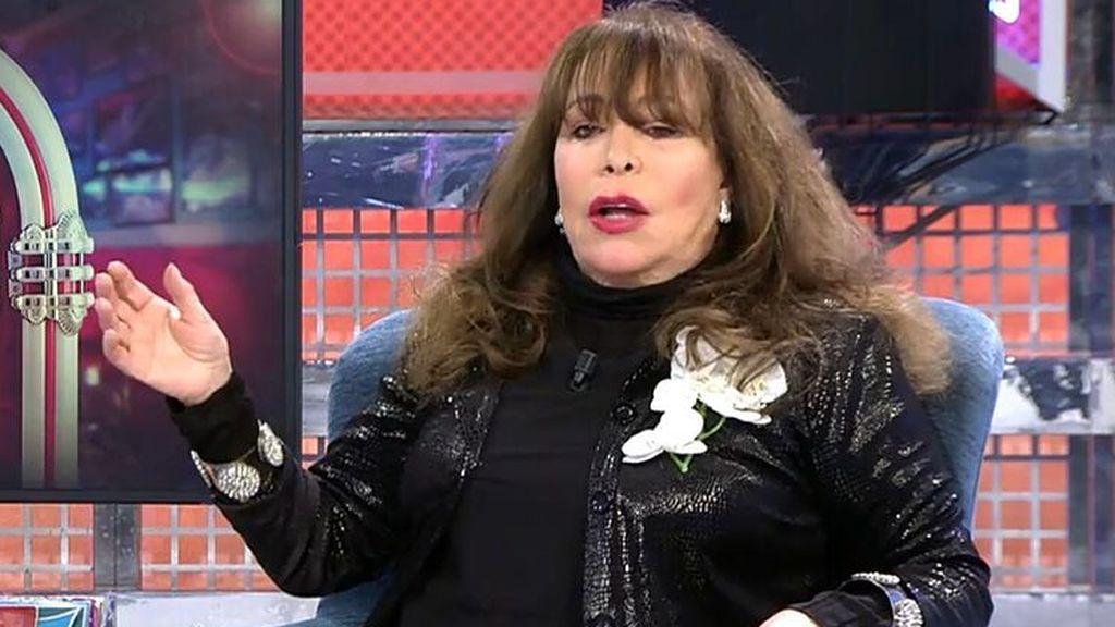 Massiel, en una de sus recientes entrevistas en TV