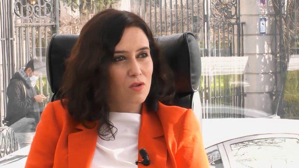 Isabel Díaz Ayuso se sincera sobre su vida personal y su deseo de ser madre