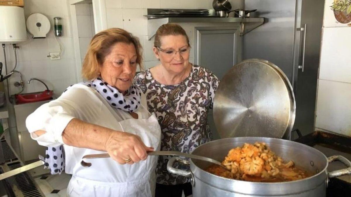 Cocineras de toda la vida, la generación de acero